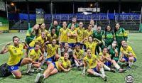 Seleção Feminina de Fut7 é bicampeã da Copa das Américas 2020