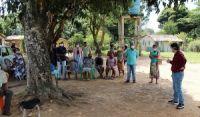 Em meio à disputas de terras, comunidade Açu da Capivara recebe comitiva da SJDHDS