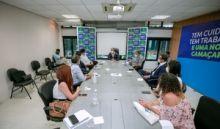 Prefeito se reúne com representantes da Embasa