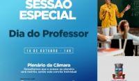 Em Sessão Especial, Câmara de Camaçari prestará homenagem aos professores